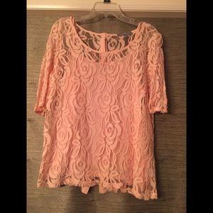 Pink Crochet Top 🧶